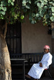 UAE: Old man Stock Image
