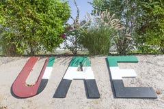 UAE Pomnikowi w Liwa oazie Fotografia Royalty Free
