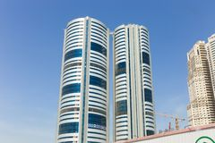 Sharjah City skyline - Emirates Stock Photos