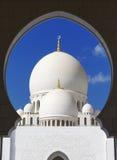 UAE. Sheikh Zayed Mosque, Abu Dhabi, UAE royalty free stock image