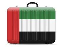 UAE sjunker loppresväskan vektor illustrationer