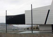 Uasur byggnad, Quito, Ecuador Arkivfoto