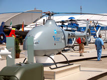 UAV - Κηφήνας ελικοπτέρων Στοκ Εικόνες