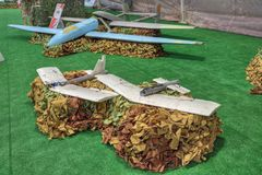 UAV dell'artigianato fotografia stock libera da diritti