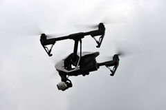 UAV drone flying Royalty Free Stock Photo