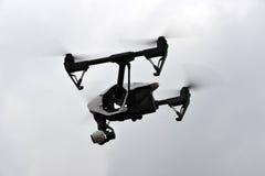 UAV drone flying Royalty Free Stock Photo