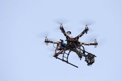 UAV DRONE IN SKY Royalty Free Stock Photography