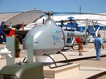UAV - Fuco dell'elicottero Immagini Stock