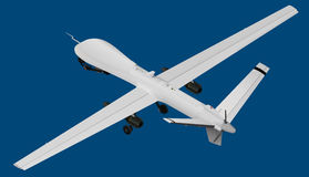 Uav isometric vector illustration Royalty Free Stock Image