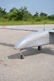 UAV parkera i landningsbana Royaltyfri Foto
