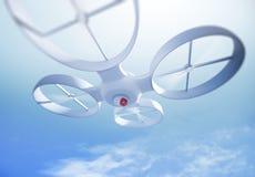 UAV quadrocopter Royalty-vrije Stock Foto's