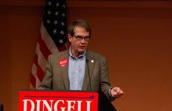Uaw-Präsident Bob König an der Dingell Sammlung Lizenzfreies Stockbild
