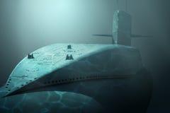 Ubåt Fotografering för Bildbyråer