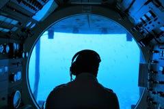 Ubåt Atlantis i Barbados royaltyfria foton