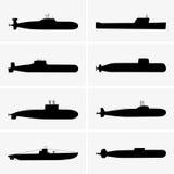 ubåtar Arkivbilder