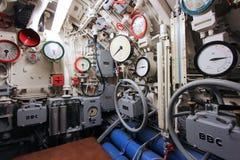 Ubåtinre Fotografering för Bildbyråer