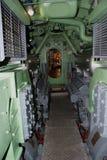 Ubåtmaskinrum Royaltyfria Bilder
