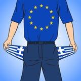 Ubóstwo Grecja Zdjęcia Royalty Free