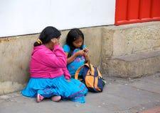Ubóstwo w Bogota Obrazy Stock
