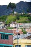 Ubóstwo w Bogota obraz royalty free