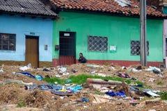 Ubóstwo w Bogota zdjęcia royalty free