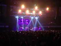 UB40 plays final concert on stage to a sold out crowd Stock Images