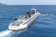 Ub?t fungerings av Atlantis Waikiki ub?taff?rsf?retag royaltyfri bild