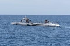 Ub?t fungerings av Atlantis Waikiki ub?taff?rsf?retag arkivfoto