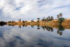 Ubari Oasi, Fezzan, Libia Foto de archivo libre de regalías