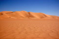 Ubari Sand Sea, Sahara Desert, Libya Royalty Free Stock Photography