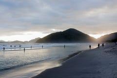 Ubatuba plaża Zdjęcia Royalty Free
