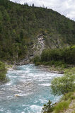 Ubaye river, French Alps Royalty Free Stock Images