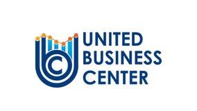 UBC blue logo eps. United businnes logo eps vector Royalty Free Stock Photo