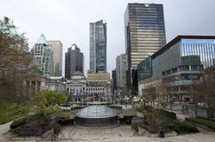 UBC Robson Square downtown Vancouver Royalty Free Stock Images