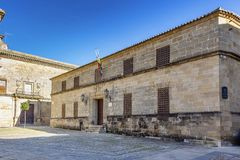Bishop`s prison, current Ubeda courthouse royalty free stock photo