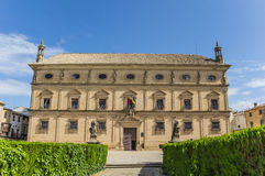 Ubeda Palacio de las Cadenas fotografering för bildbyråer