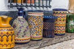 Ubeda pottery stock image