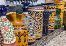 Ubeda pottery Stock Photos