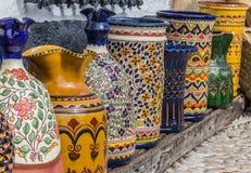 Ubeda pottery. Pottery at a souvenir shop in Ubeda, Spain Stock Photos
