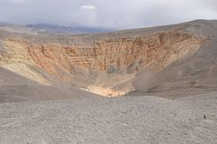 Ubehebe Crater Royalty Free Stock Photo