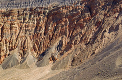Ubehebe Crater. Stock Images