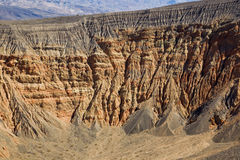 Ubehebe Crater. Royalty Free Stock Photography