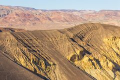 Free Ubehebe Crater In Death Valley, California, USA Royalty Free Stock Images - 170760849