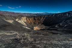 Ubehebe Crater Royalty Free Stock Images