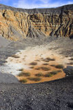 Ubehebe Volcano Stock Photography
