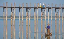 ubein моста лодочника Стоковая Фотография RF