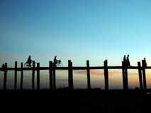 ubein пейзажа моста Стоковое фото RF