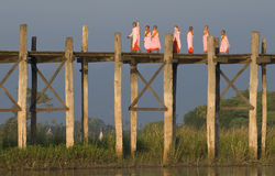 Ubein Bridge 2 Stock Image