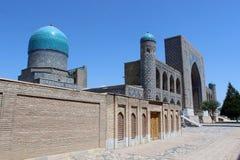 Ubekistan,撒马而罕 图库摄影