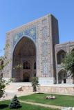 Ubekistan,撒马而罕 免版税库存图片